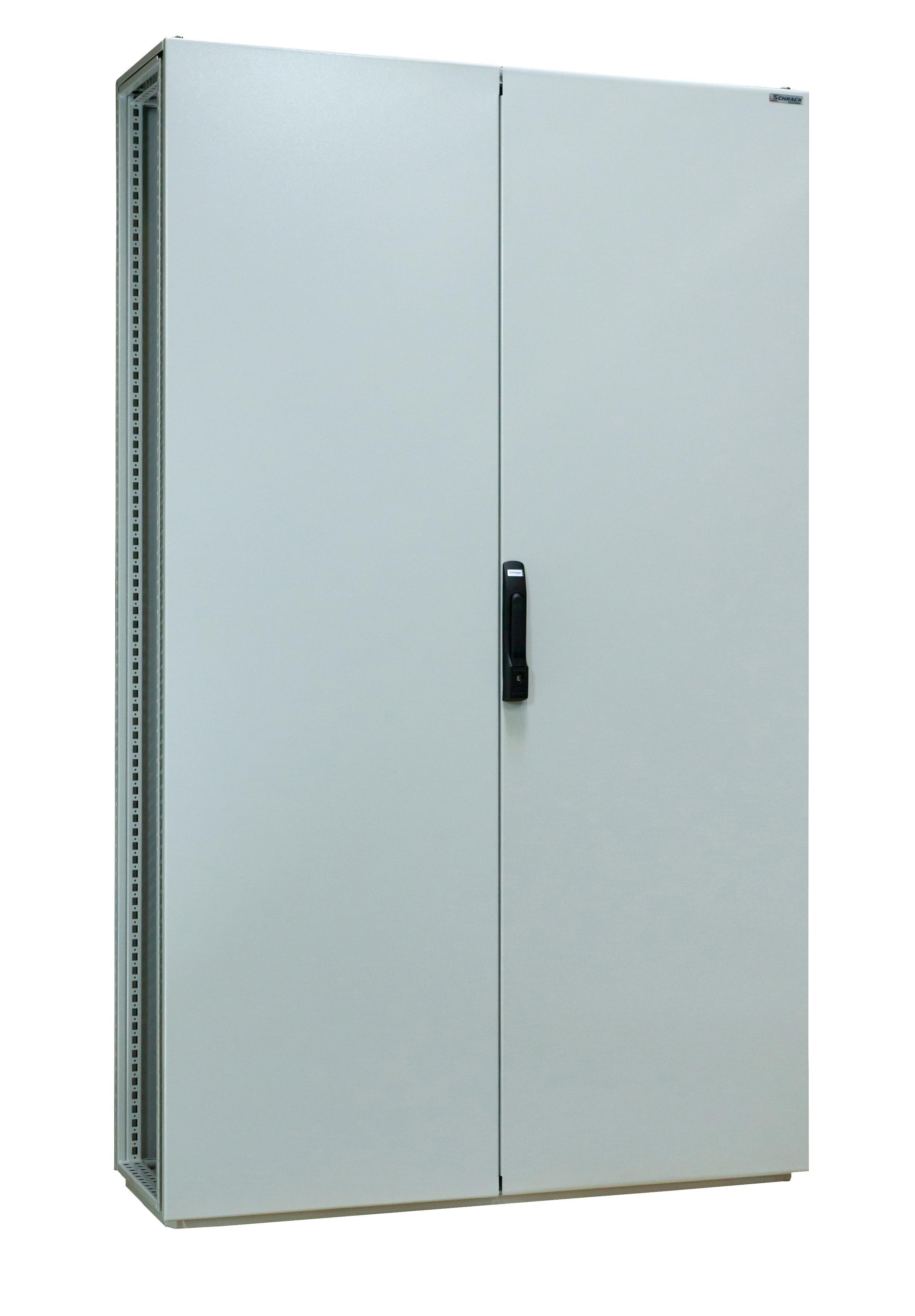 1 Stk Anreihschrank 2-türig, 1800x1000x400mm, RAL 7035 AS181042-5
