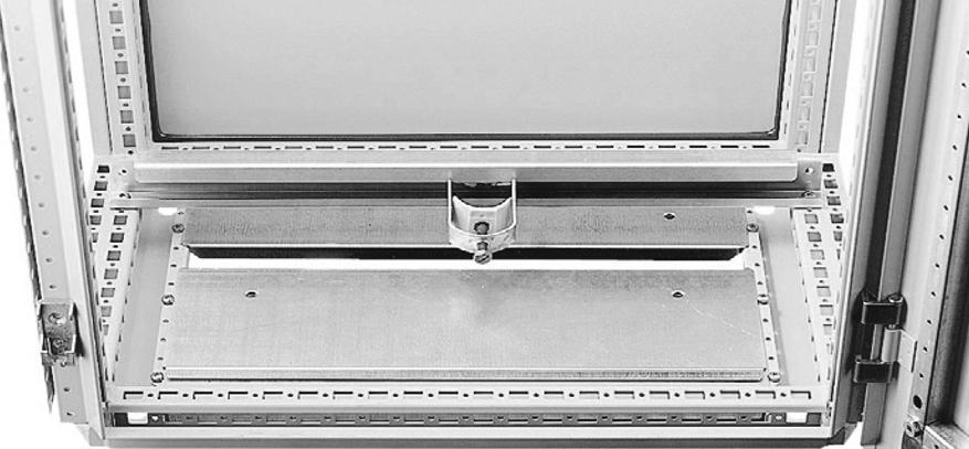 1 VE Kabelabfangschiene 800mm ASCAB800--