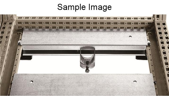 1 VE Kabelabfangschiene Sockelmontage 800mm ASCAP800--