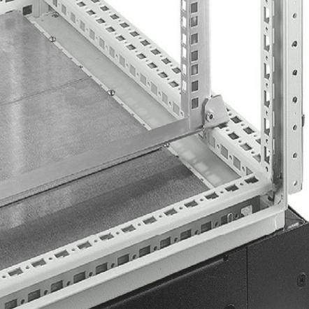 1 VE Befestigungswinkel für 19Profil für 600mm breite Schränke ASCIB600--