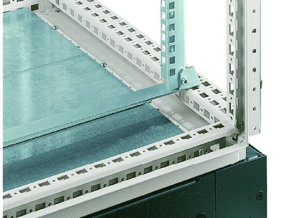 1 VE Befestigungswinkel für 19Profil für 800mm breite Schränke ASCIB800--