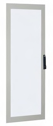 1 Stk Glastüre klar 1800x600mm RAL 7035 ASKG1806-5