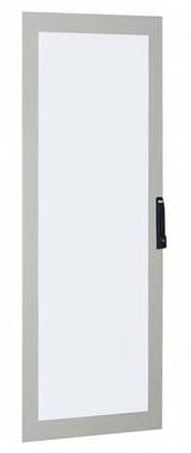1 Stk Glastüre klar 2000x600mm RAL 7035 ASKG2006-5