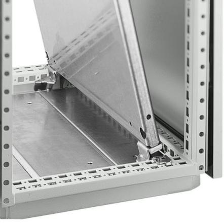 1 VE Montageplatten Befestigungssatz Tiefe in 25mm Schritten ASMPD002--