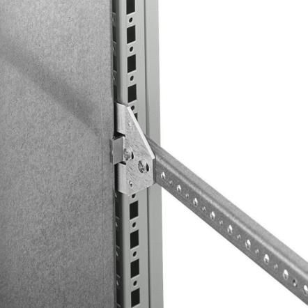 1 VE Montageplatten Mittenbefestigung für AS/KS Schränke ASMPE002--