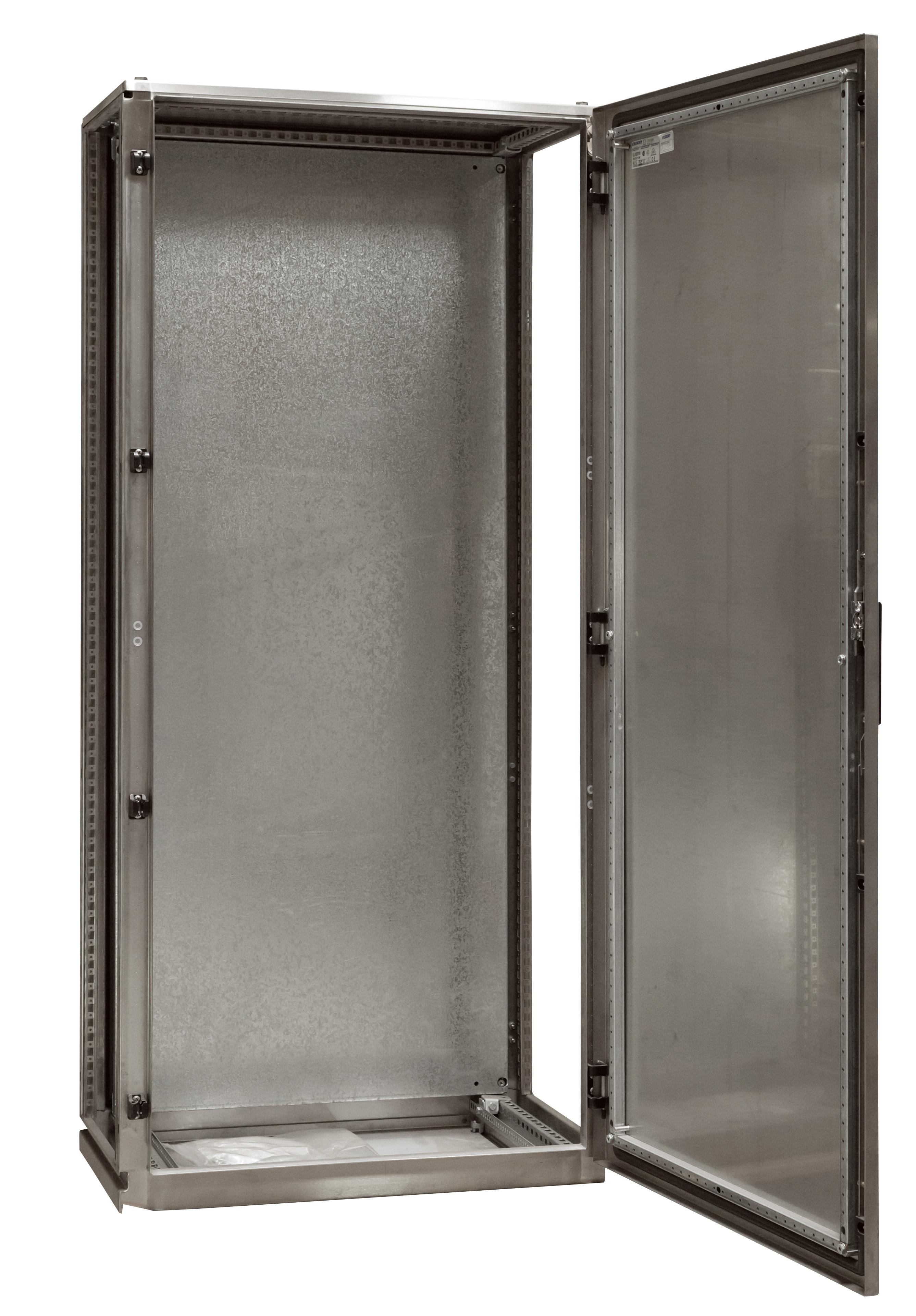 1 Stk Anreihschrank Edelstahl 1-türig, 2000x600x600mm, AISI 304L ASR206060-