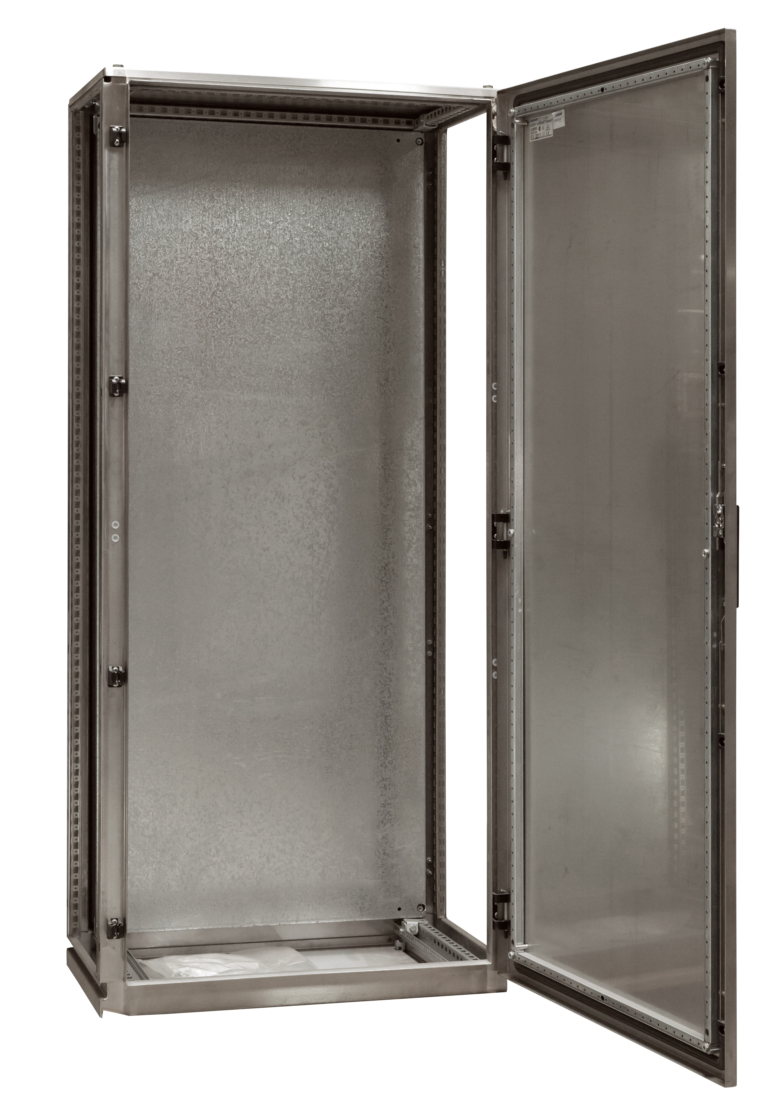 1 Stk Anreihschrank Edelstahl 1-türig, 2000x800x600mm, AISI 304L ASR208060-