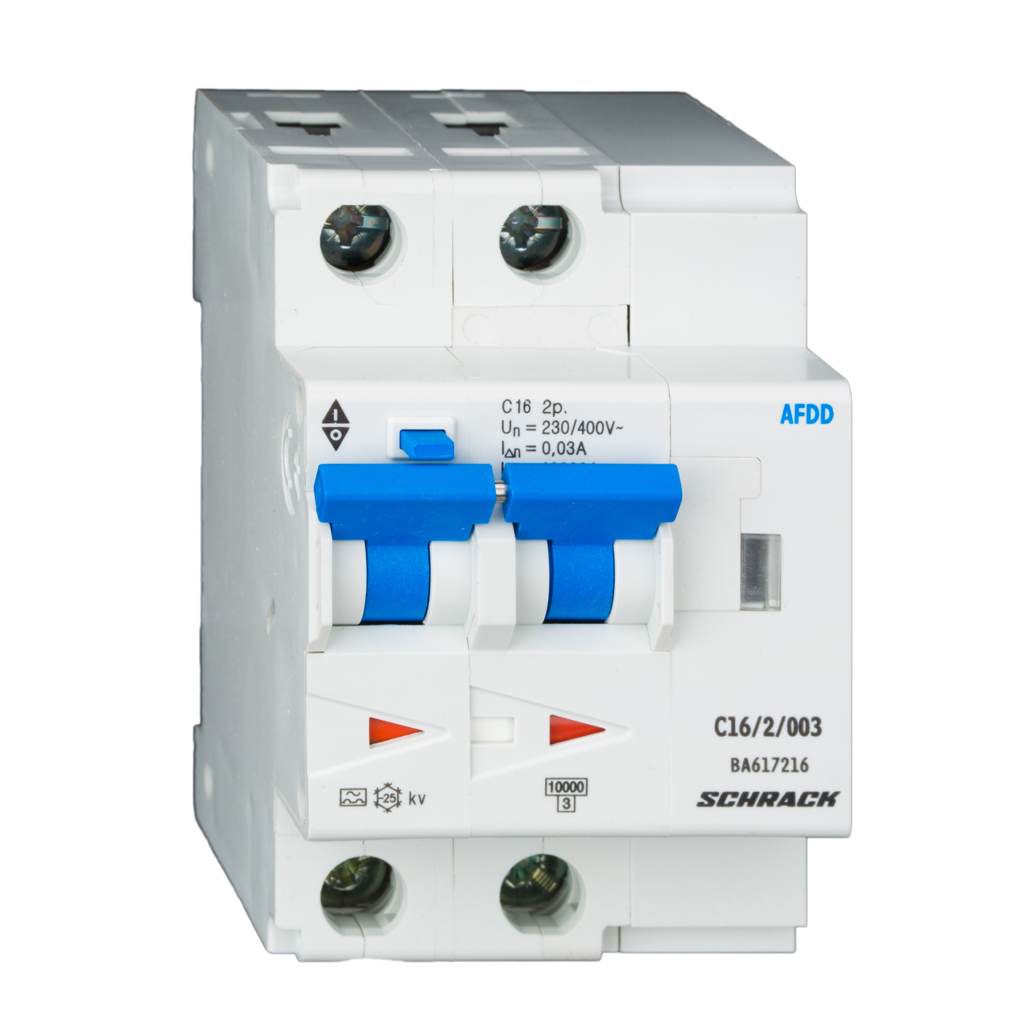 1 Stk AFDD, Serie Lisa, C 40 A, 2-polig, 30 mA, Typ AC, 6 kA BA667940--