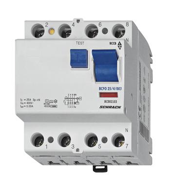 1 Stk FI-Schalter 25 A, 4-polig, 30mA, Typ AC BC002103--