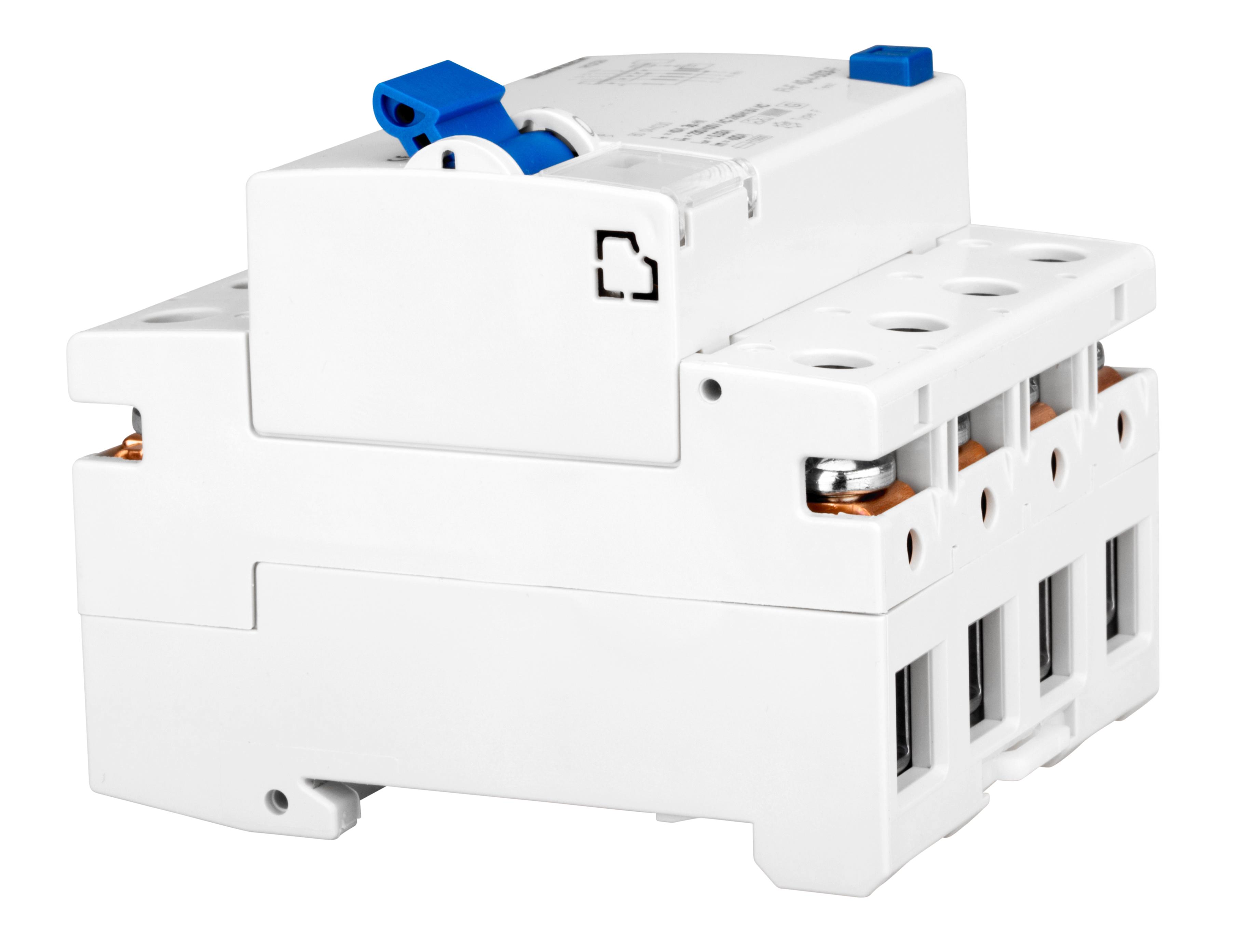 1 Stk FI-Schalter, 40A, 4-polig, 30mA, vsf., Bauart G, Typ F BD044403--