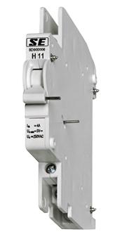 1 Stk Hilfsschalter, 1 Öffner, 1 Schließer, 5-250V, 6A, schraubbar BD900006--