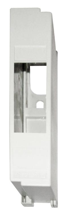 1 Stk Aufputz Automatengehäuse, IP40, 1TE, 1-reihig, ohne Tür BD900012--