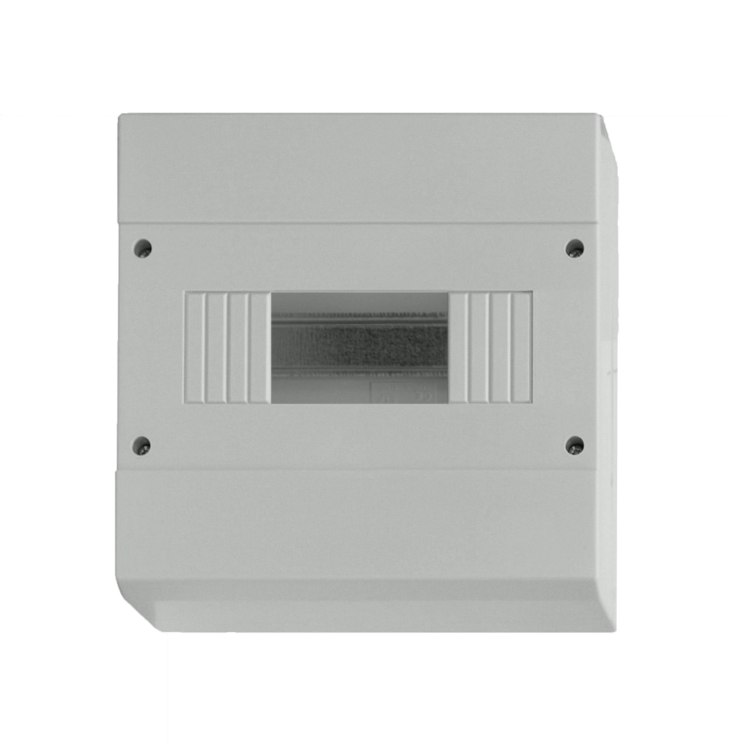 1 Stk Aufputz Automatengehäuse, 8TE, 1-reihig ohne Tür, IP40 BD900014-A