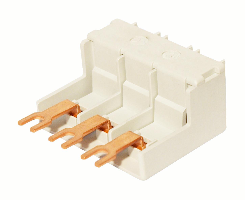 1 Stk Einspeiseblock für BE5, Reiheneinbaublende montierbar BE590002--