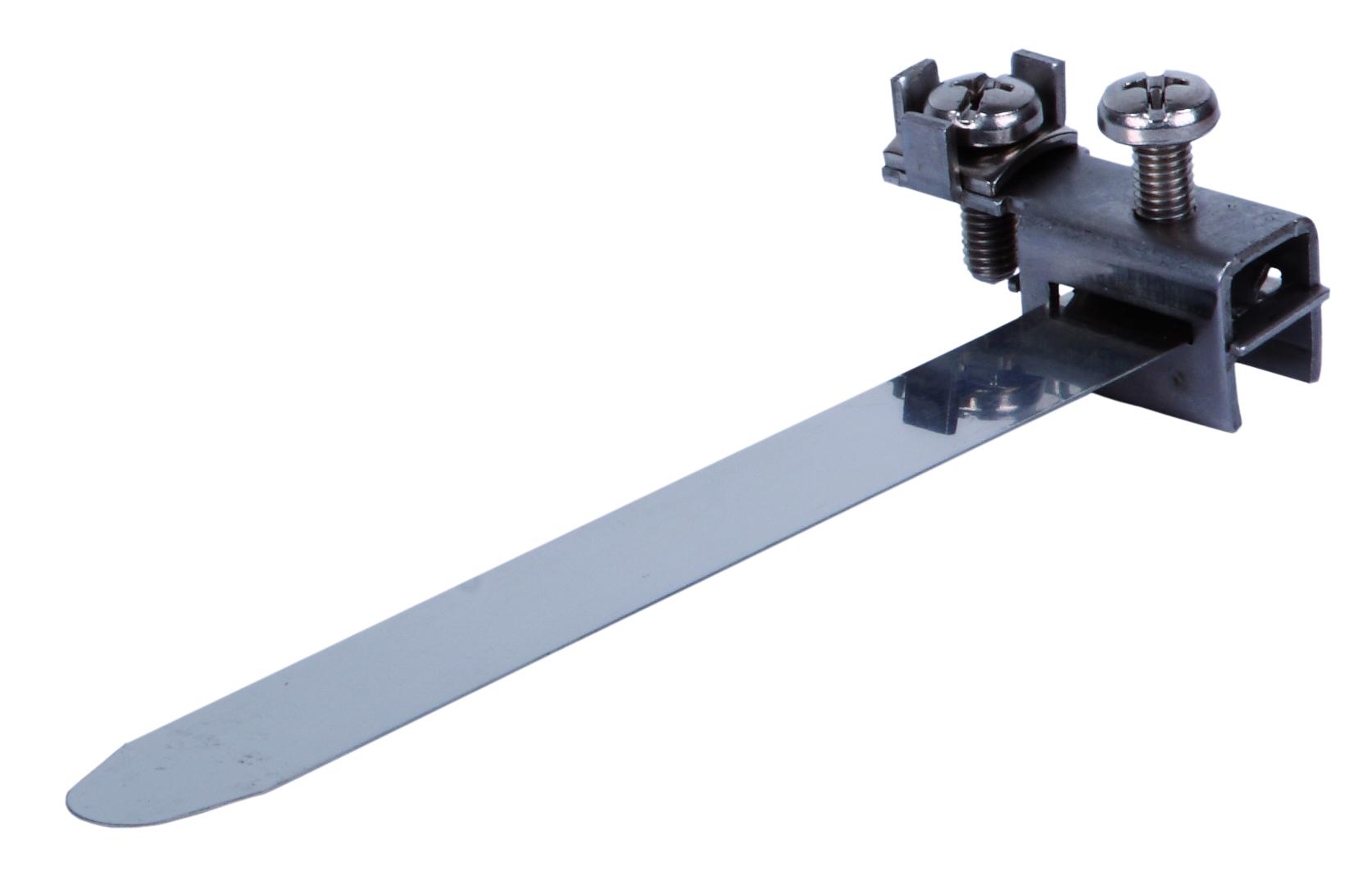 1 Stk Erdungsbandschelle V2A Rohre Ø 8-50mm Anschluss: 2,5-16mm² BG2020424-