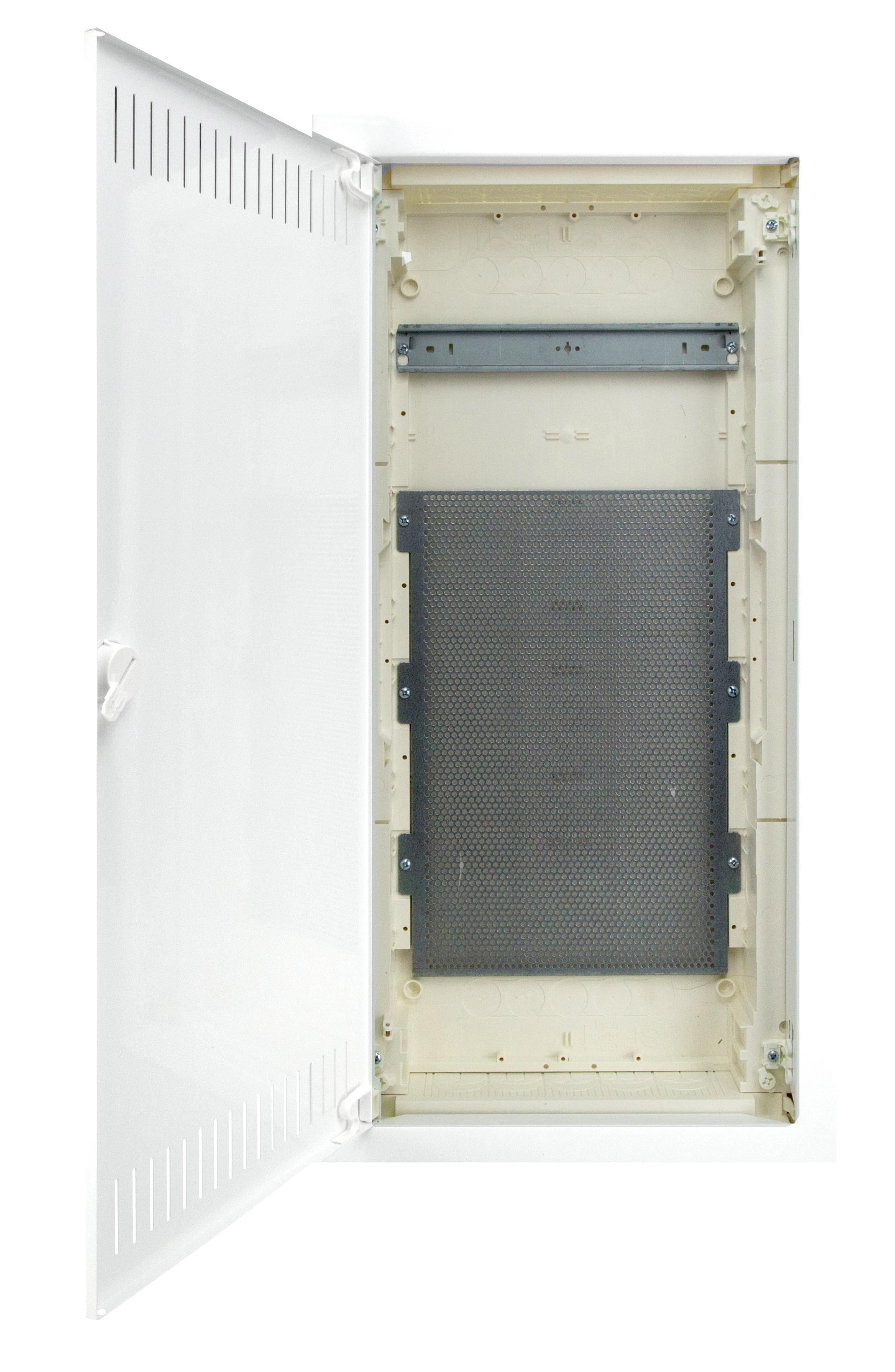 1 Stk UP Mediaverteiler MVM 4-r. 12/14TE - Mauerwerk Rahmen hoch BK073004-F