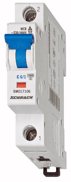 1 Stk DC-Sicherungsautomat, Kennlinie C 13A, 1-polig, 10kA BM015113--