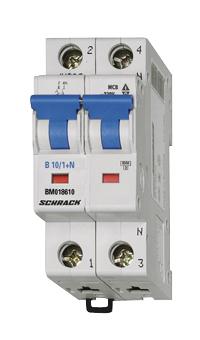 Wyłącznik instalacyjny B10/1+n,6kA
