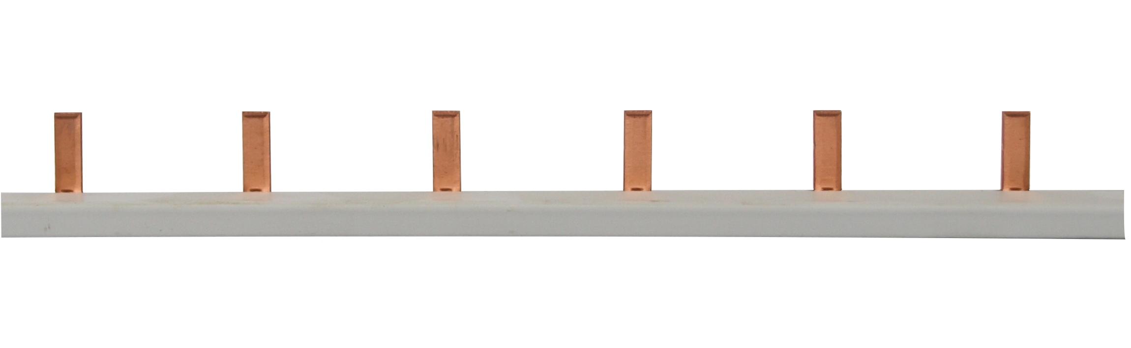1 Stk Stiftverschienung 1-polig, 16mm² / TE=27mm für Neozed, 1m BS900133--