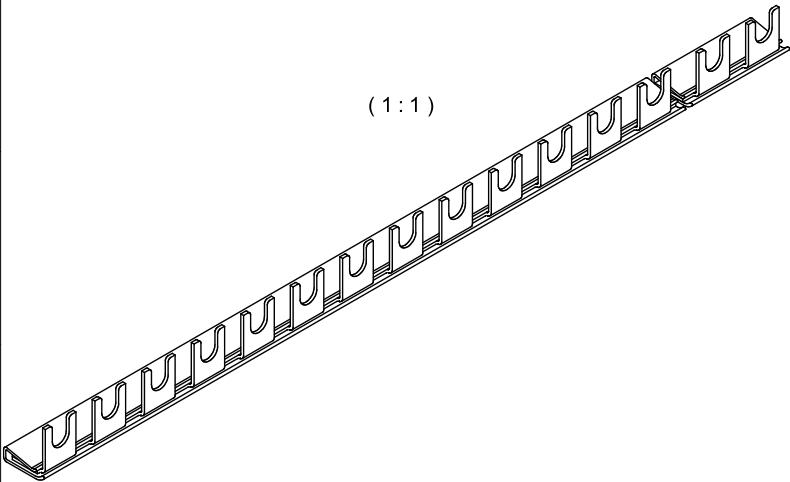 1 Stk Gabelverschienung 1-polig, 16mm², 1m BS900141-P