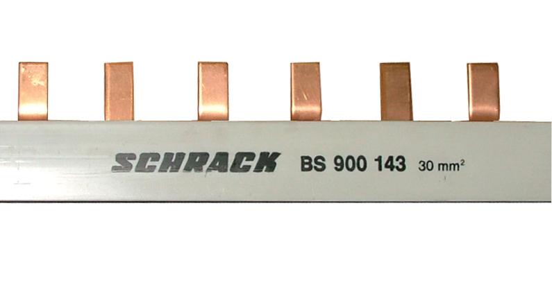 1 Stk TYTAN Stiftverschienung 30mm² / TE=27mm, 3-polig, 1m BS900143--