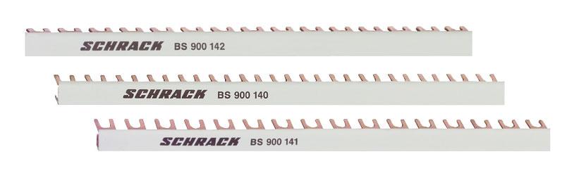 1 Stk TYTAN-T Gabelverschienung 16mm² / TE=27mm, 3-polig, 1m BS900145--