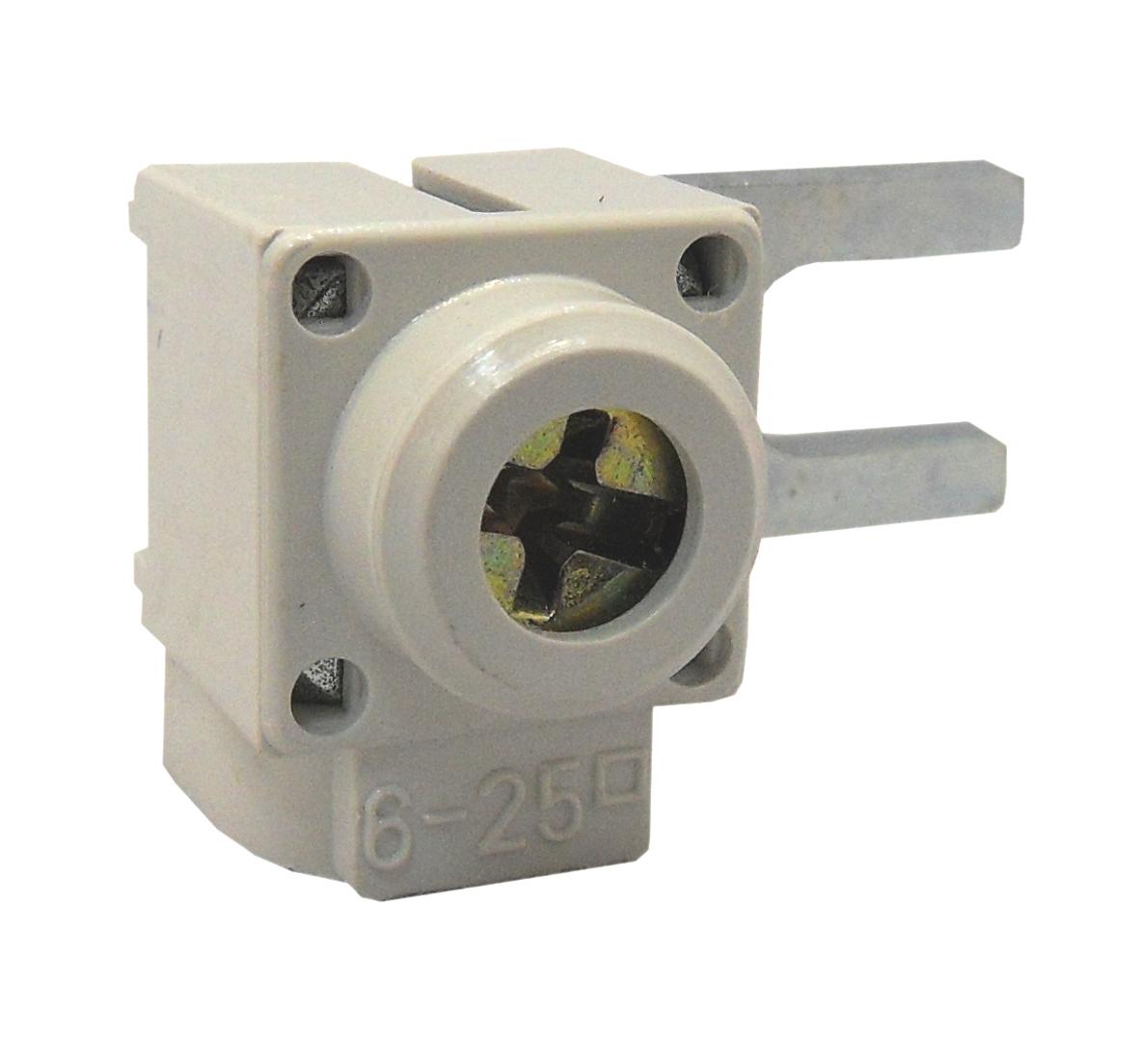 1 Stk Anschlußklemme, Gabel, quer, 6-25mm², kurz BS900171--