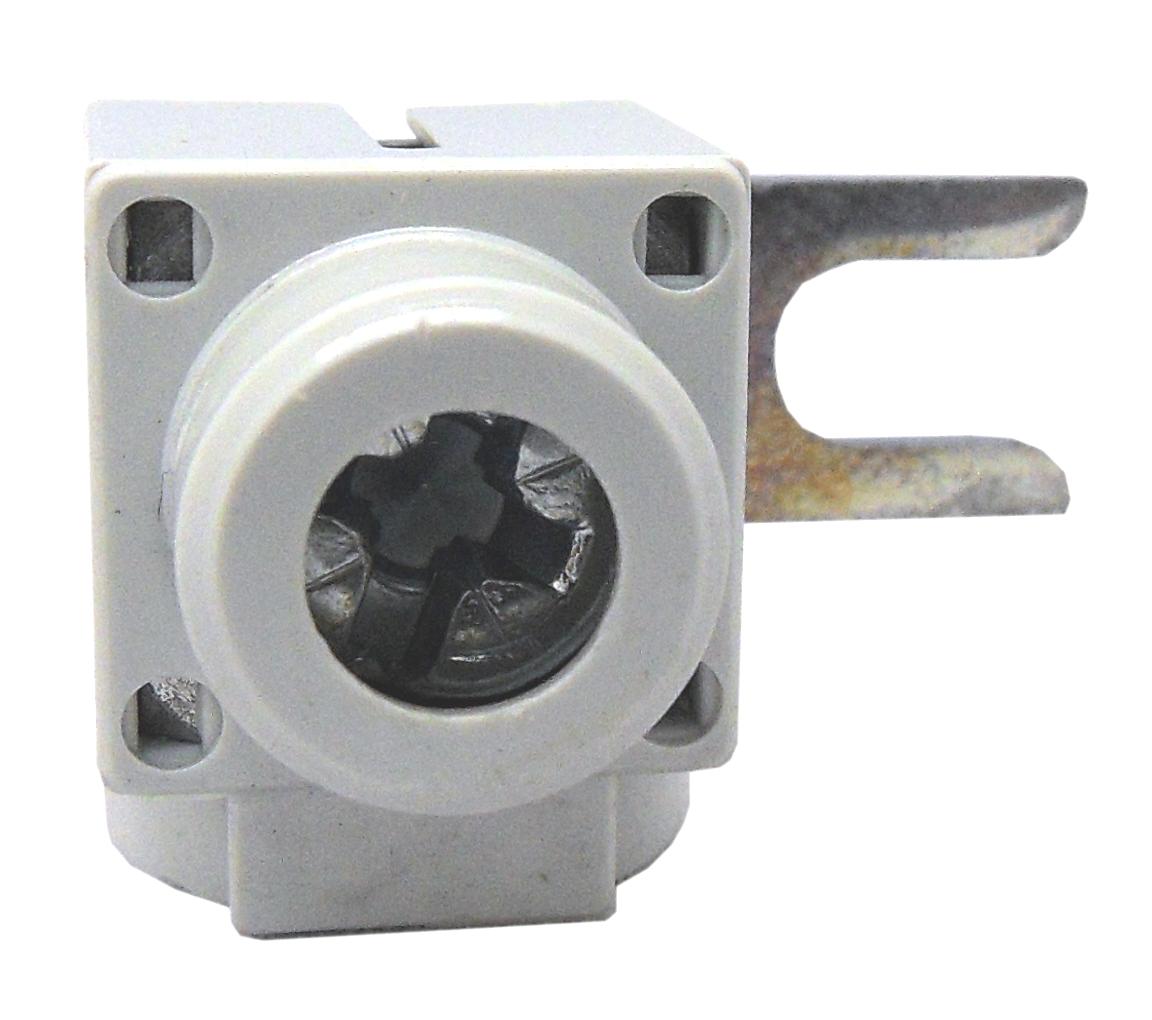 1 Stk Anschlußklemme, Gabel, quer, 6-50mm², kurz BS900175--