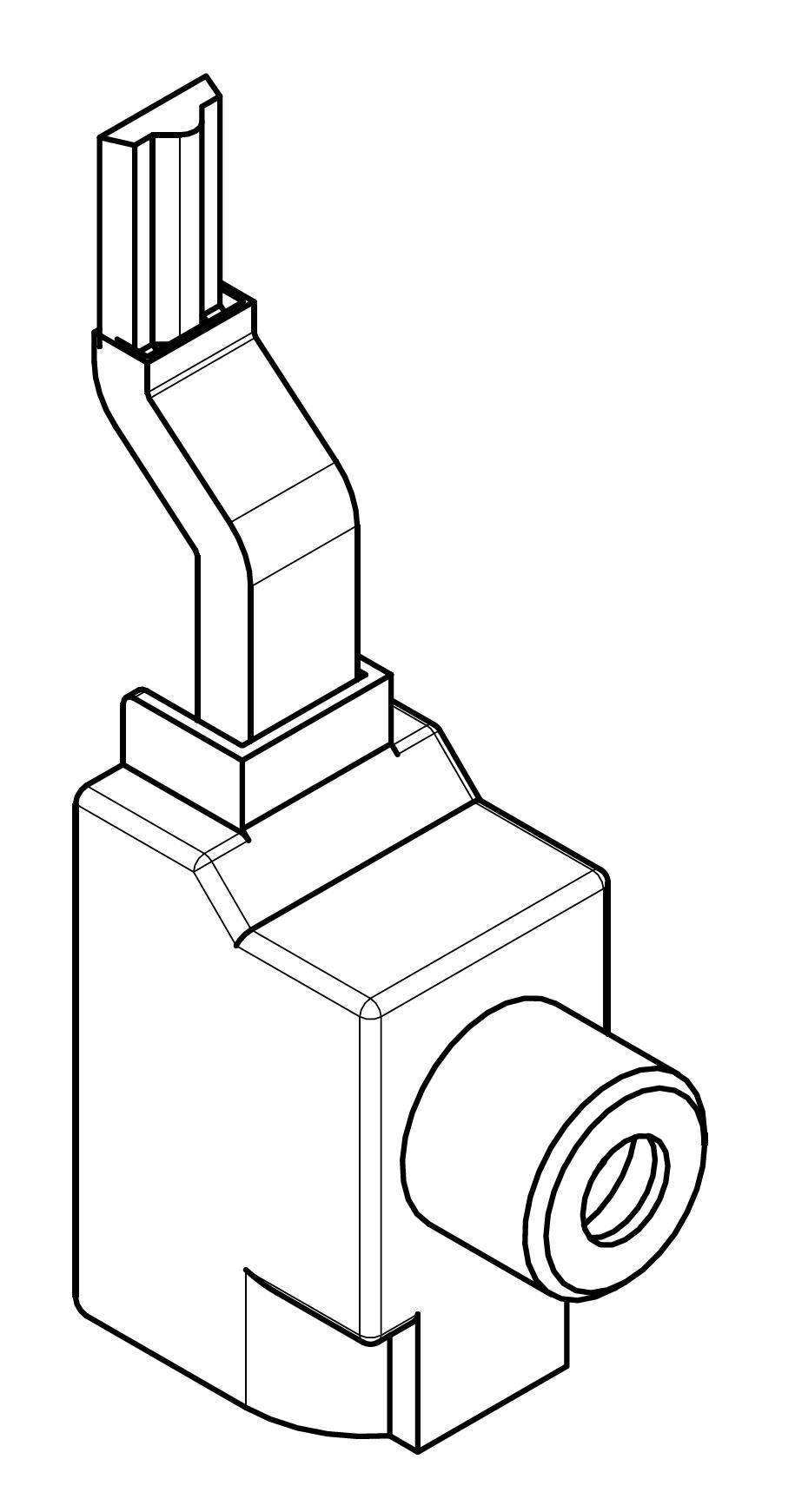 1 Stk Klemme 95mm² für ARROW II 000-NH-Trenner-Verschienung BS900191-A