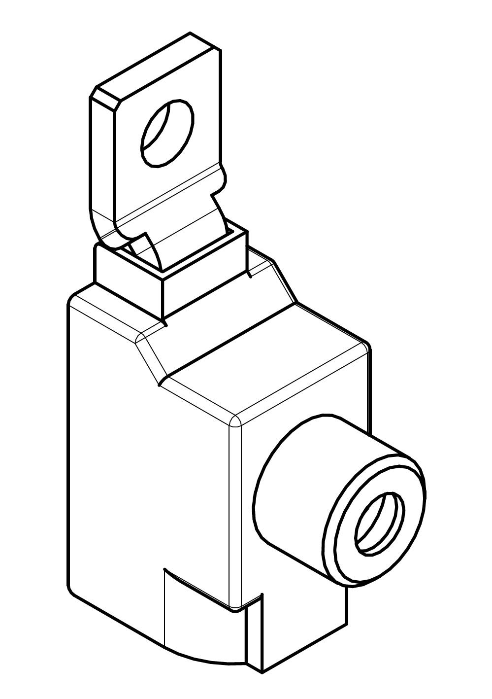 1 Stk Klemme 95mm² für ARROW II 00-NH-Trenner-Verschienung BS900311--