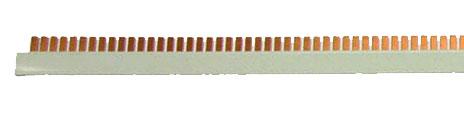 1 Stk Stiftverschienung L2, 1m lang, Stiftbreite 6mm BS990148--