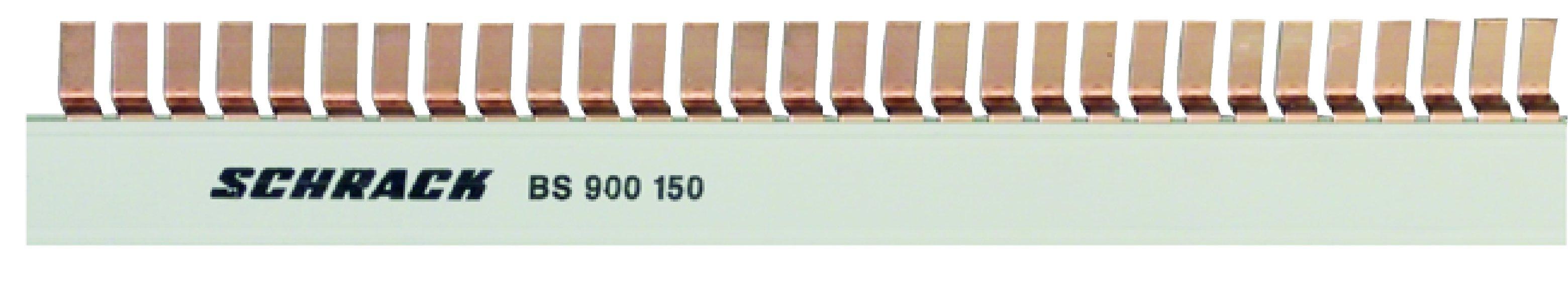 1 Stk Stiftverschienung N, Stiftbreite 6mm, 16mm², TE=9mm, 1m BS990151--