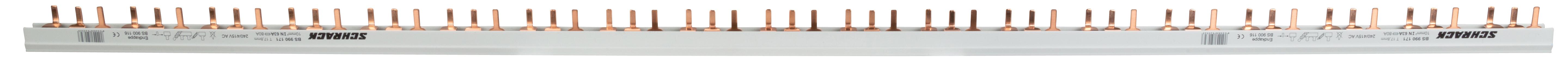 1 Stk Small Connect,Verschienungsset 3+N, 10mm² für LS 1+N/1TE BS990171--