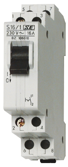 1 Stk Reiheneinbau-Ausschalter, 3 Schließer, 16A BZ106030--
