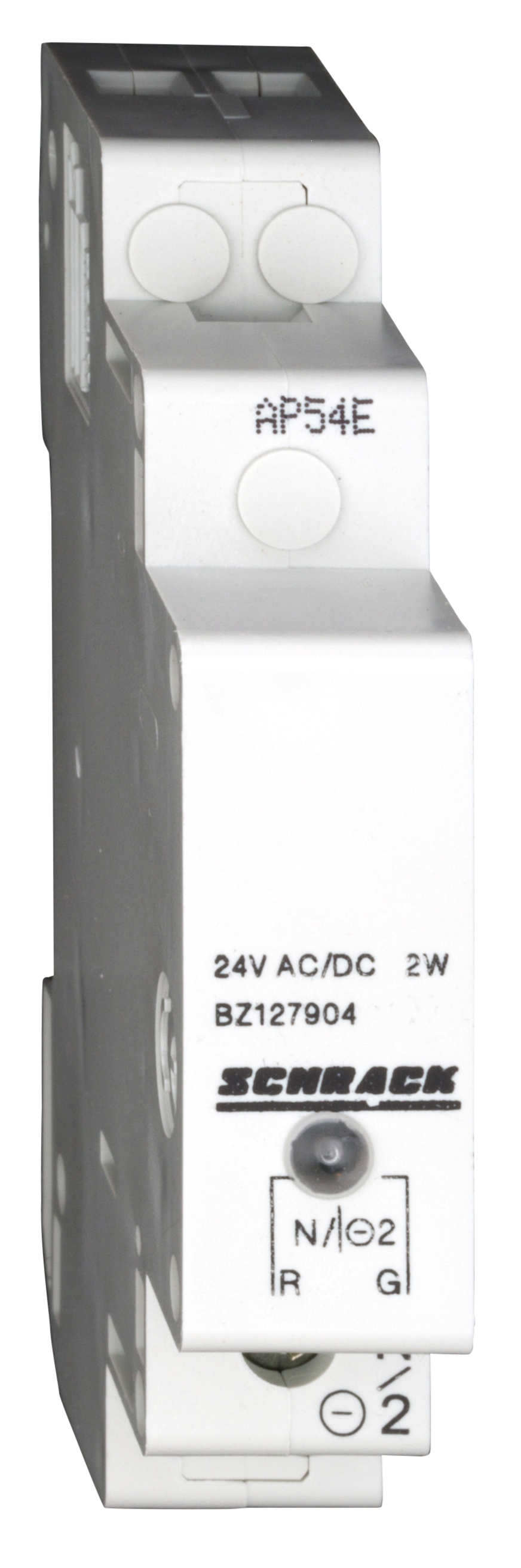 1 Stk Reiheneinbau-Einzelleuchte LED 12-24VAC/DC, rot/grün BZ127904--