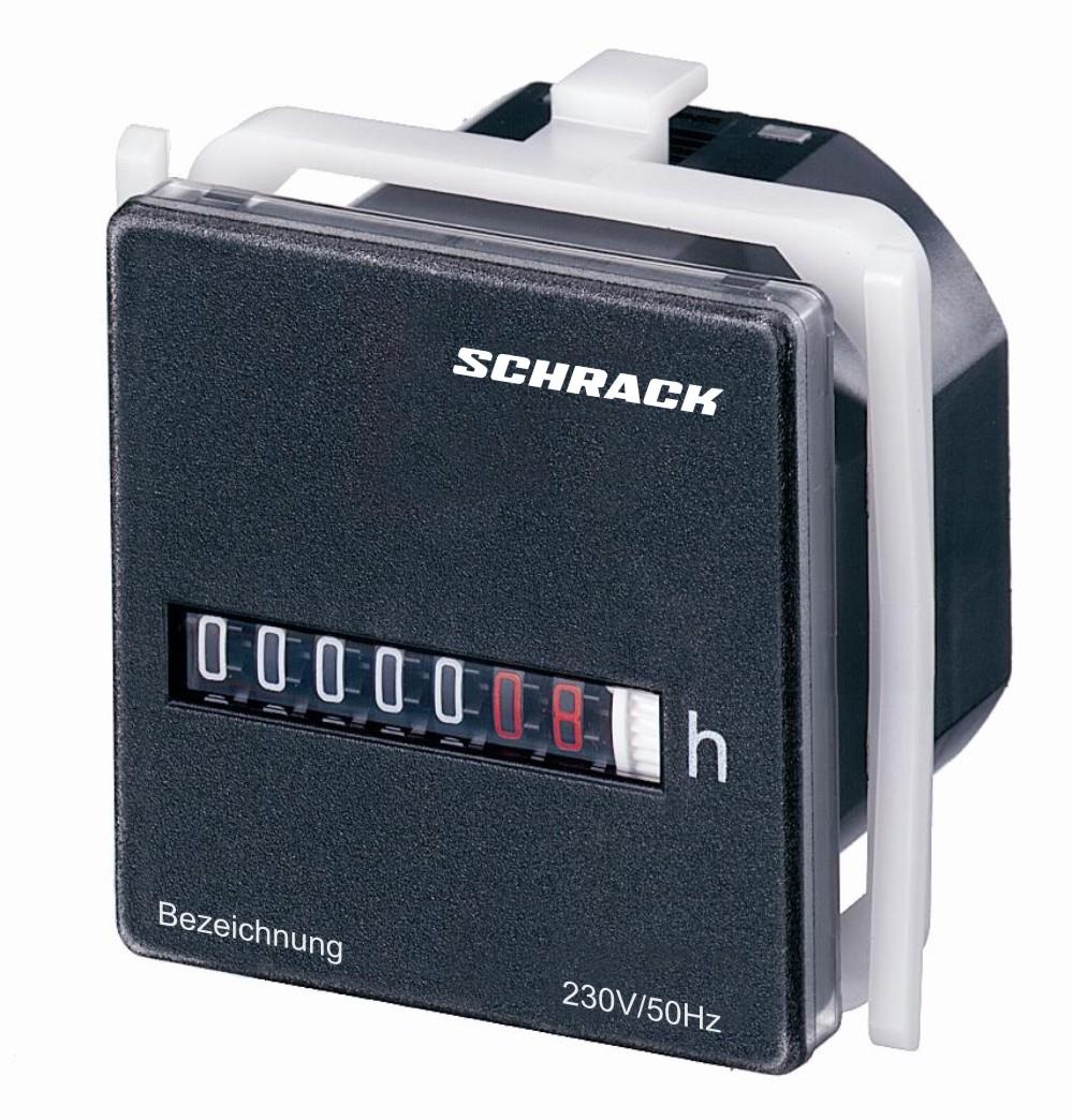1 Stk Betriebsstundenzähler 48 x 48 IP 54, 230VAC 50Hz BZ326414-A