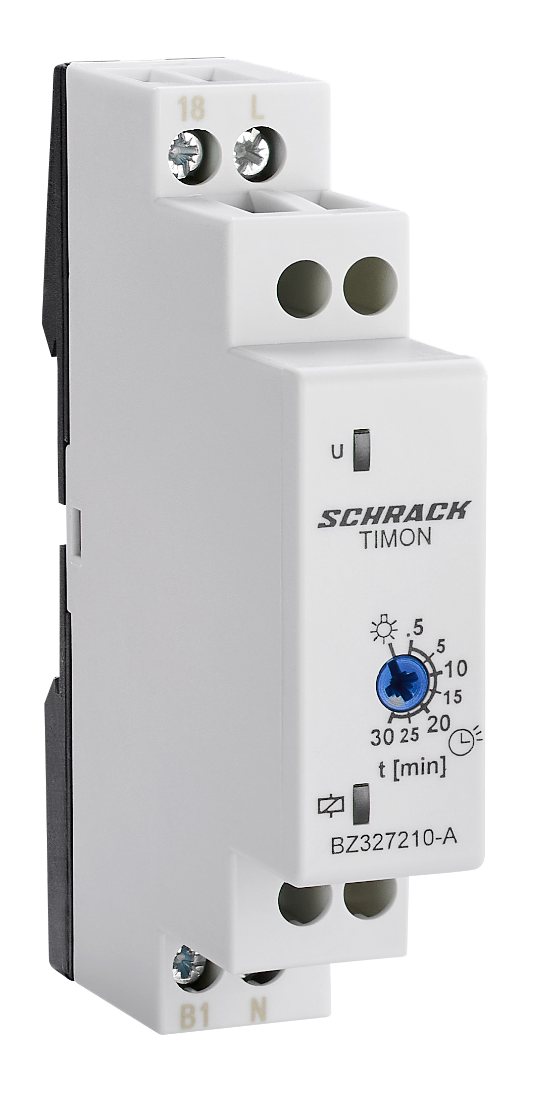 1 Stk Treppenhausautomat TIMON, 0,5-30min, 16A BZ327210-A