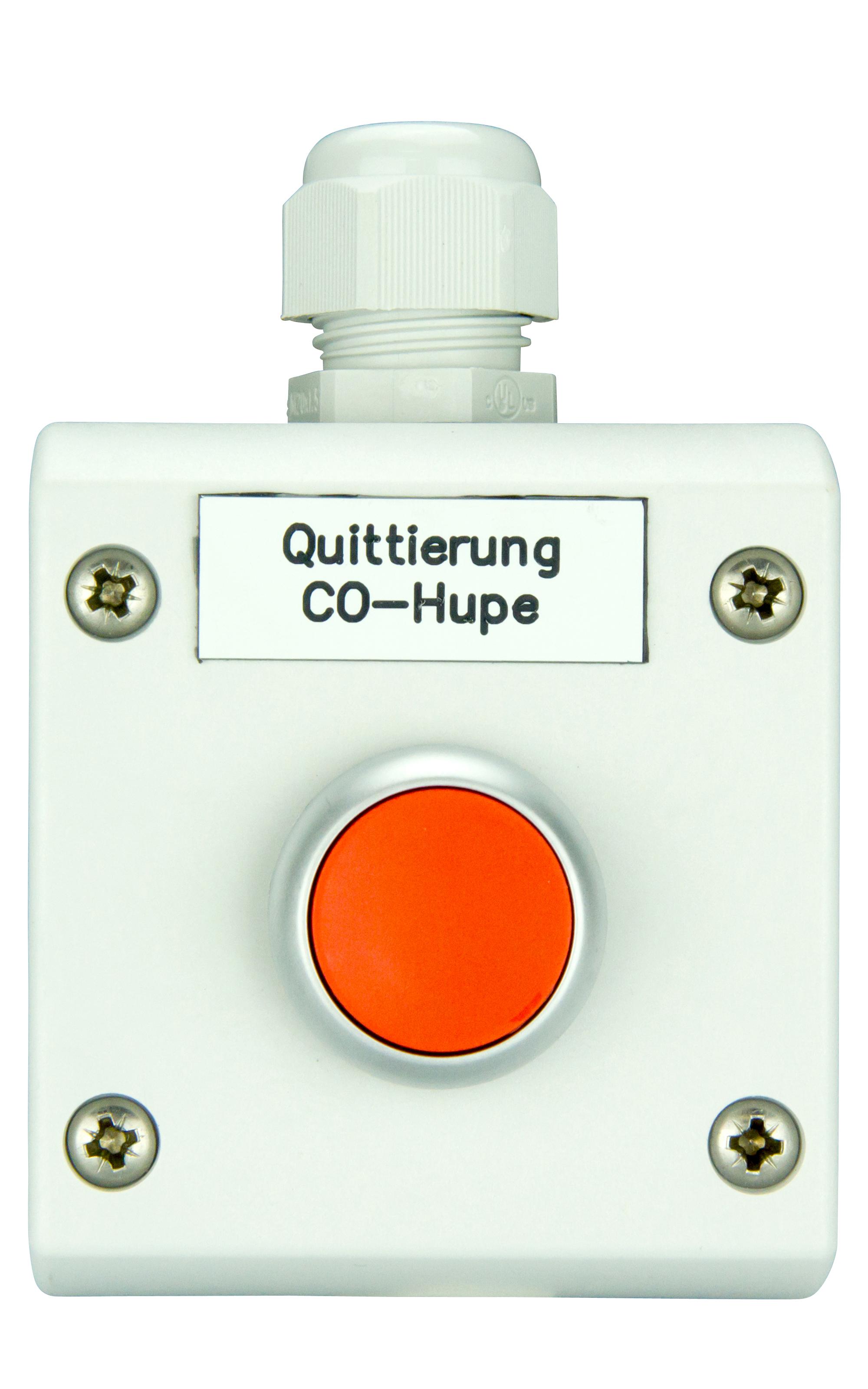 1 Stk Hupenquittiertaster für CO Anlagen COHQ------