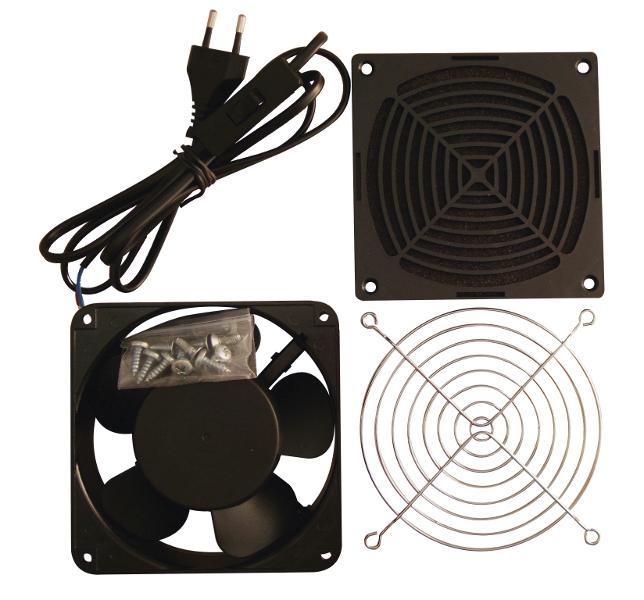 1 Stk Lüfter,1xVentilator,Kabel+Schalter,Filter+Gitter DWxx6050/60 DLT12121--