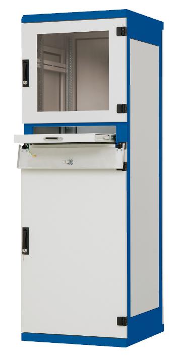 1 Stk Industrie-Steuerungsschrank B600xH1750xT600, 19, 37HE, IP30 DSP376063-