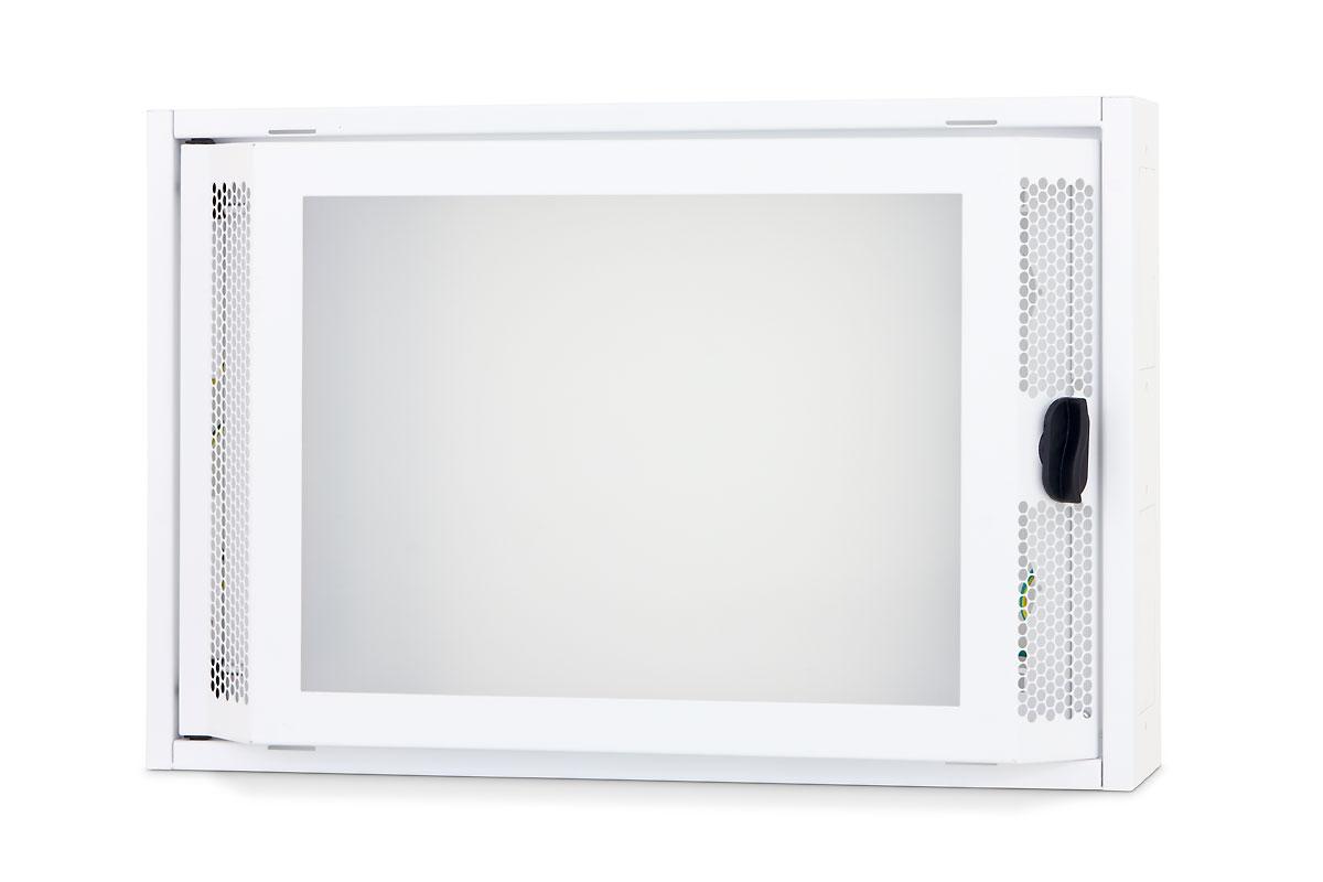 1 Stk Daten Heimverteiler, 2-reihig, 26xTOOLLESS, 3x230V, RAL9003 DW4HD226--