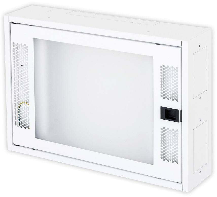 1 Stk Daten Heimverteiler, 2-reihig, 26xTOOLLESS, 3x230V, RAL9003 DW4HD226F-