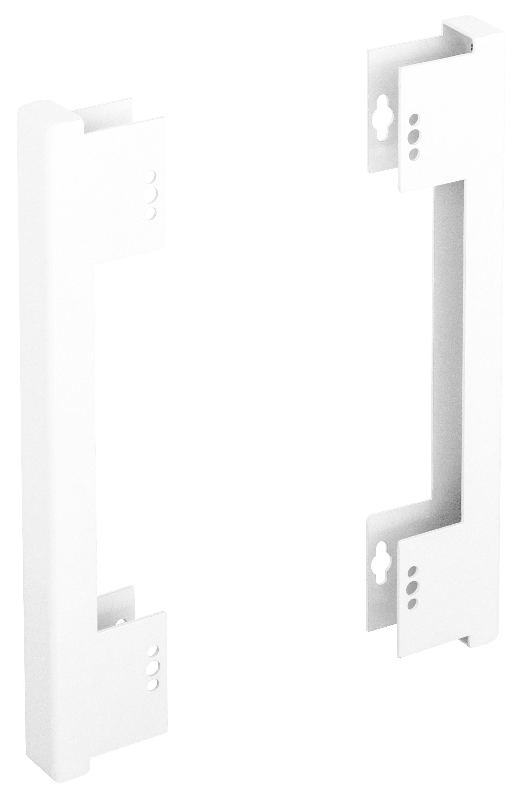 1 Stk Seiten- Montageset für DW4Hx1…, T=30mm, H=166mm, RAL7035 DW4HZMS1--
