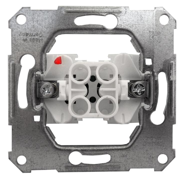 1 Stk UP-Einsatz Unischalter Steckklemmen EL111600--