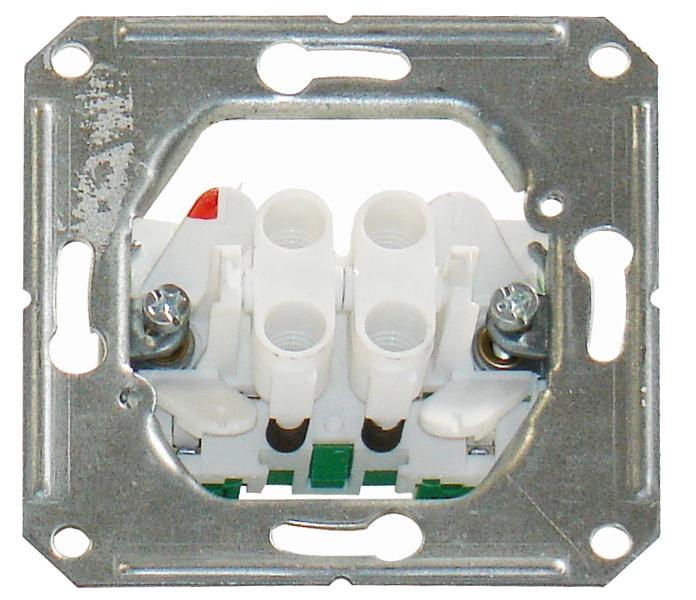 1 Stk UP-Doppeltaster Steckklemmen EL112500--