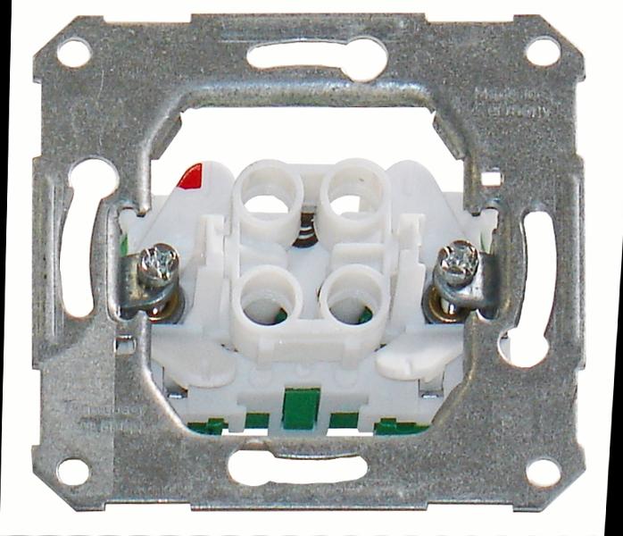 1 Stk UP-Taster ohne Leuchtmarkierungsbaugruppe Steckklemmen EL112620--
