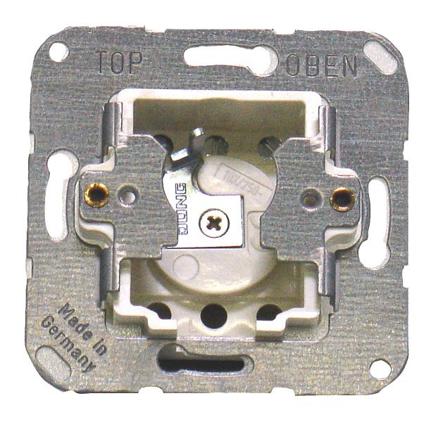 1 Stk Schlüsseltastereinsatz 1-polig, Schaltung 4/1 (Wendetaster) EL121930--