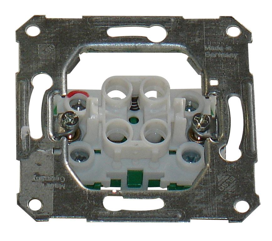 1 Stk UP-Taster 1 Schließer mit separatem Leuchtmarkierungsanschl. EL122110--