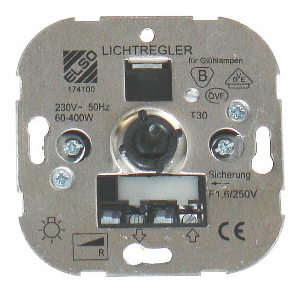 1 Stk Dimmereinsatz 60-400W, R EL174100--