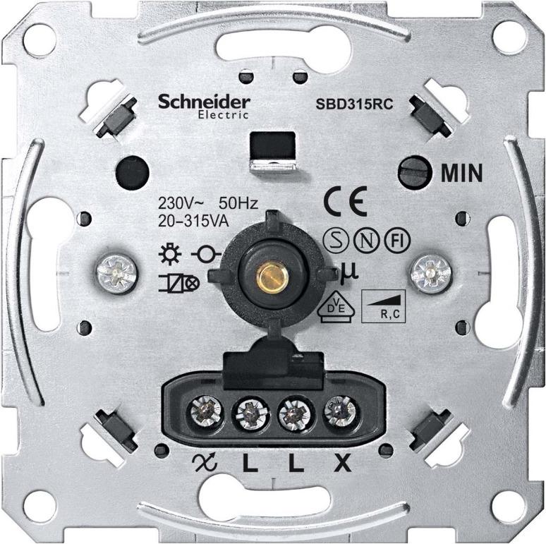 1 Stk Dimmereinsatz 20-315W/VA, RC EL174201--